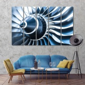 Air Turbine canvas prints art, modern wall decorations