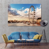London office wall art, United Kingdom modern artwork