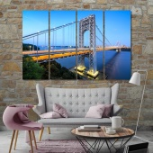 The George Washington Bridge wall art canvas painting