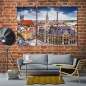 Munich artistic prints on canvas, ‎Germany decor wall