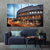 Rome modern wall decorations, Colosseum dining room artwork