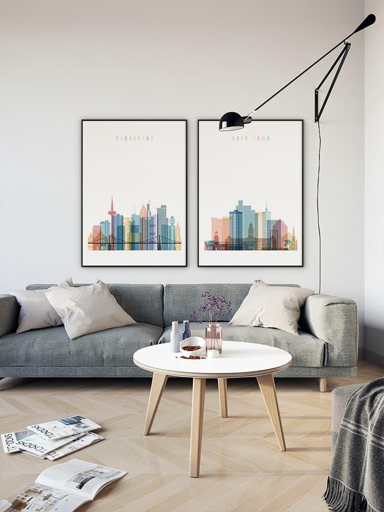 Frankfurt Living Room Poster Germany Art Room Decor Arts Decor Com