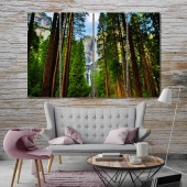 Yosemite Valley wall art for kitchen, Yosemite National Park home art