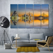 Aomori canvas wall decor, Japan cool wall paintings
