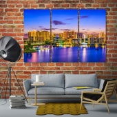 Sarasota pictures for bedroom walls, Florida wall art painting