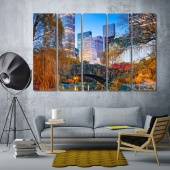 ‎central park in new york city prints art