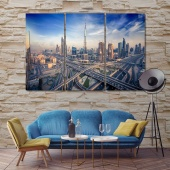 Dubai modern contemporary wall decor, UAE art deco frame