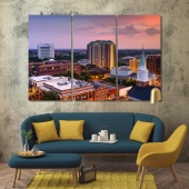 Florida canvas wall decor