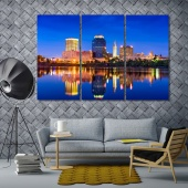 Massachusetts wall art canvas prints