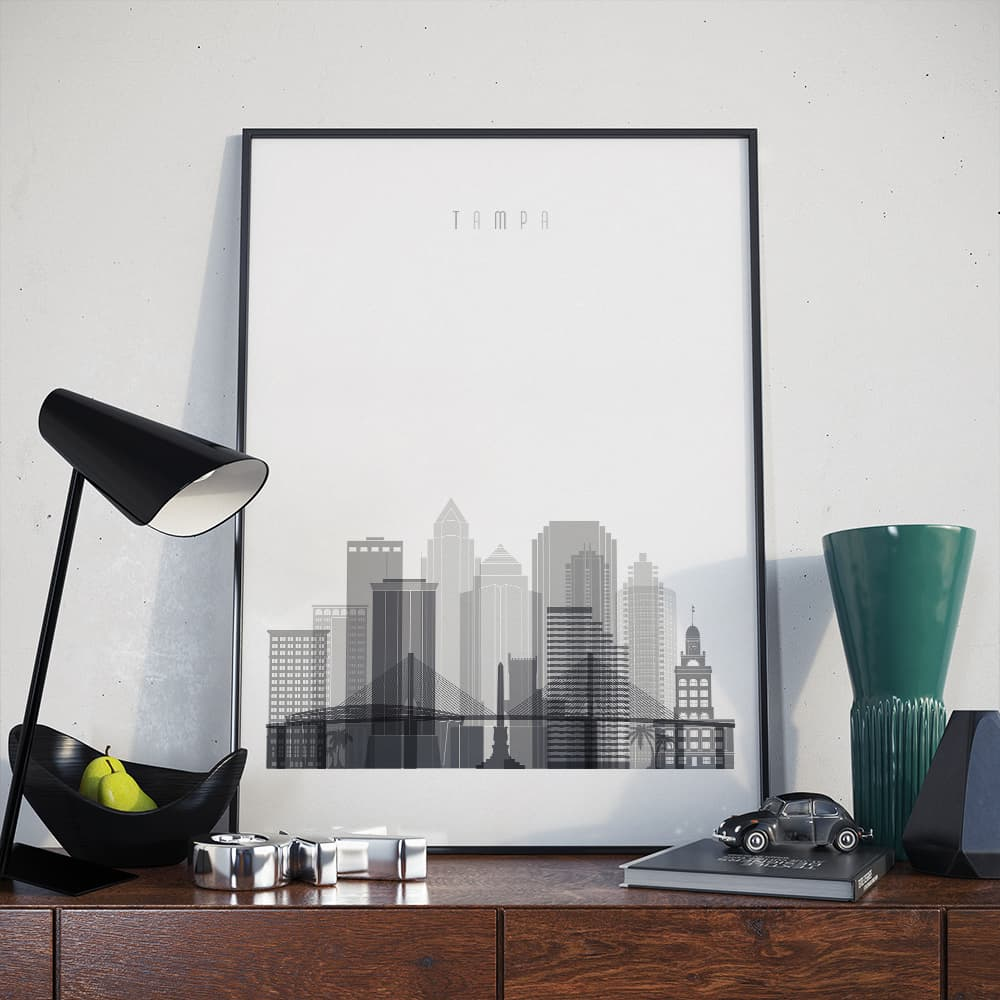 Tampa wall decor poster - arts-decor.com