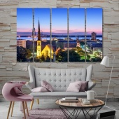 Charleston home decor wall art, South Carolina cool wall paintings