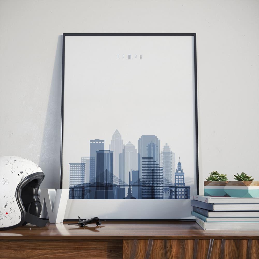 Tampa wall decor poster - arts-decor.com