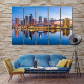 Florida canvas wall pictures
