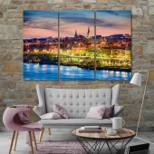 Georgetown wall decor paintings, Washington art prints on canvas