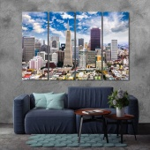 San Francisco artwork for office, California walls decorations
