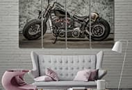 Outstanding Canvas Car & Moto Wall Art