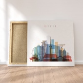 Beijing canvas wall pictures, China print canvas art