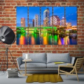 Tampa living room wall decor