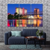 Louisiana wall art frames
