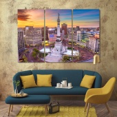 Indianapolis framed wall pictures, Indiana house wall decor