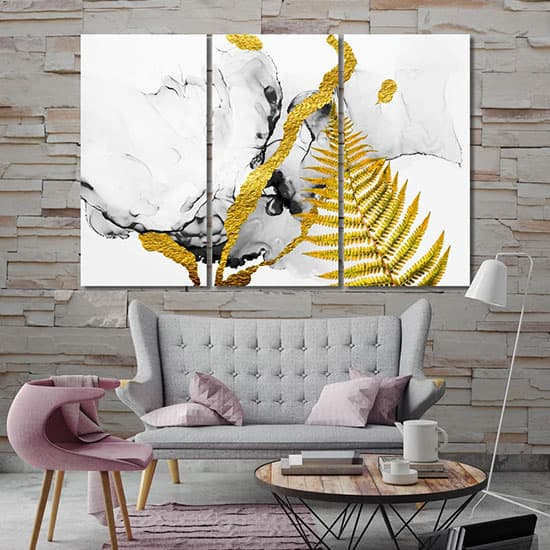 Modern abstract room art
