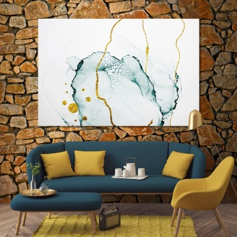 Marble abstract wall decorations for bedroom, wall art abstract