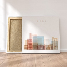 Lubbock canvas wall paintings