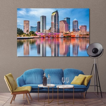 Tampa wall pictures for home, Florida canvas wall paintings