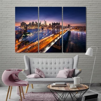 New York City canvas art prints, United States modern wall decor