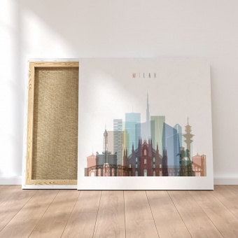 Milan canvas wall pictures, Italy artistic prints on canvas