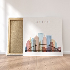 Rochester canvas wall paintings, ‎New York modern kitchen wall decor
