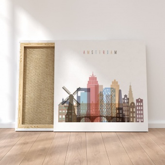 Amsterdam canvas wall pictures, Netherlands art on wall