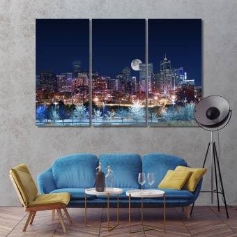 Denver cool art for walls, Colorado wall art home decor