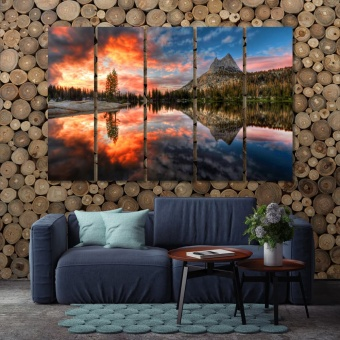 Yosemite National Park wall decor for home, California nature