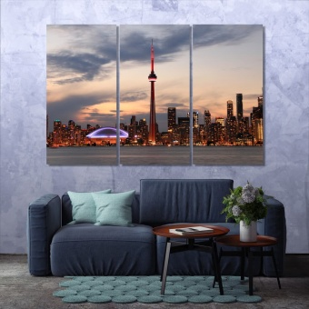 Toronto office wall pictures, Canada modern wall art