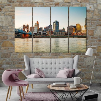 Cincinnati wall art pictures, Ohio canvas art work