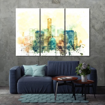 Kolkata paintings for home, India print canvas art