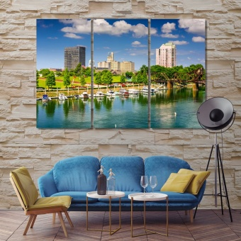 Augusta bedroom wall art decor, Georgia wall art canvas prints