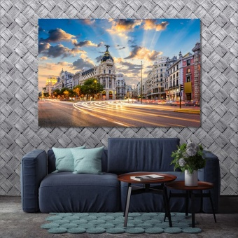 Madrid office wall art, Spain modern wall decorations