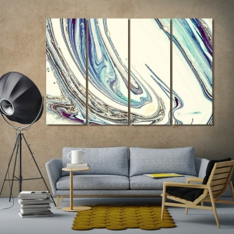 Original abstract artistic prints on canvas, modern abstract decor