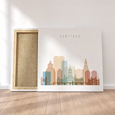 Hartford Connecticut canvas art