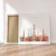 Bruges canvas artwork