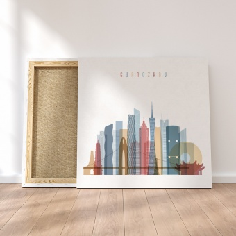Guangzhou canvas wall art, China home interiors wall decor