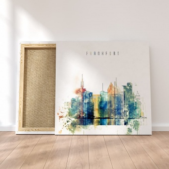 Frankfurt modern wall decor, Germany  canvas prints art