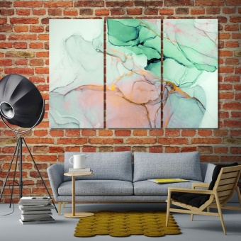 Watercolor abstract art wall art paintings for living room