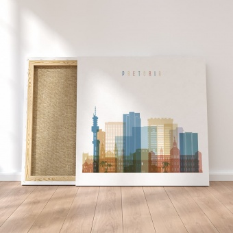 Pretoria canvas wall pictures, South Africa home decor prints