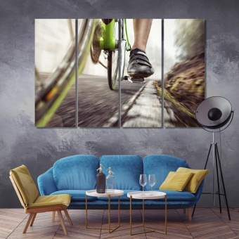Ride a bike wall decorations
