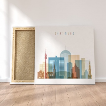 Dortmund canvas wall decor, Germany cool wall artwork