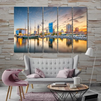 Milwaukee wall art paintings, Wisconsin contemporary wall decor