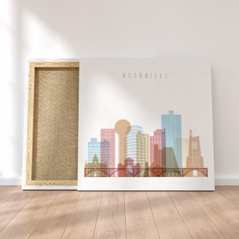 Knoxville canvas artwork, Tennessee wall art canvas prints